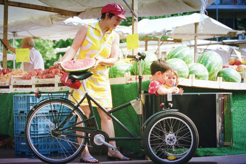 Das Lastenvelo mit Kindern, eine gute Kombination