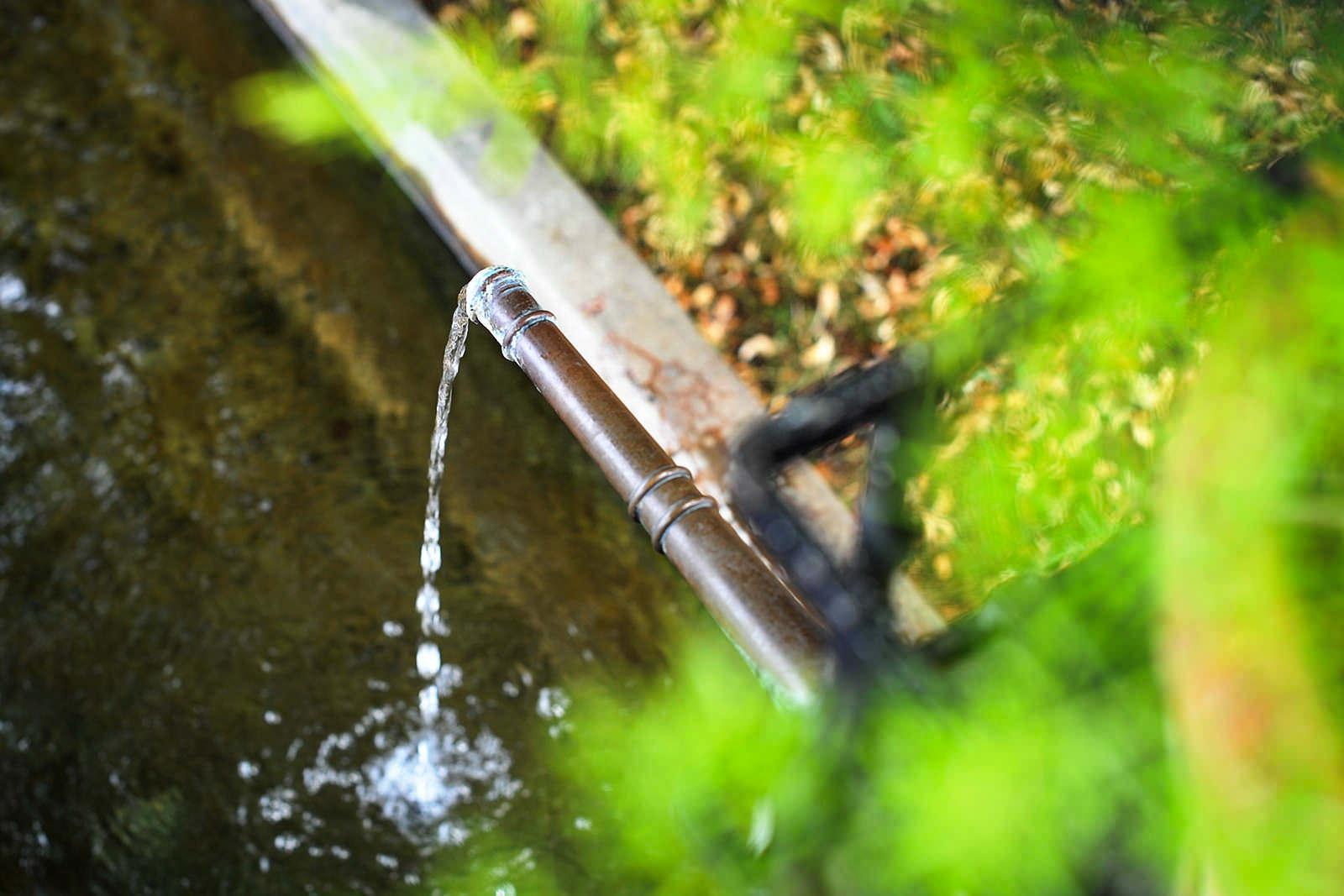 Trinkwasser aus Brunnen in der Schweiz